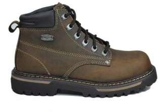 SKECHERS Cool Cat Bully II Dark Brown Ankle Boots Men Size 4479 CDB