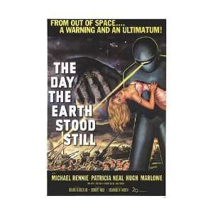 Day the Earth Stood Still Movie Poster, 26 x 37.75 (1951