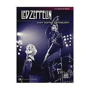 Led Zeppelin Easy Guitar Anthology Book Sports