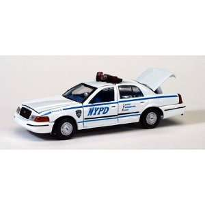 1999 FORD CROWN VICTORIA POLICE INTERCEPTOR DIE CAST CAR: Toys & Games