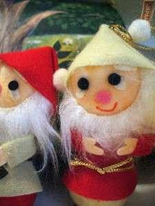 VNTG FAO SCHWARZ JAPAN Felted Snow White & Dwarfs Disney w/ Case