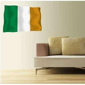 IRELAND Irish Flag Wall Decal Room Decor Sticker 25 x 18