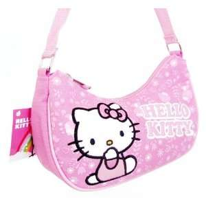 Sanrio Hello Kitty Pink Purse with Strap Toys & Games