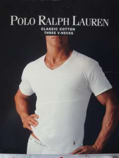 Polo Ralph Lauren Crew Neck or V Neck Shirts ~ Multi Packs ~ Pick Your