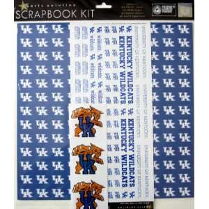 Solution Kentucky Wildcats Scrapbook Page Kit Arts, Crafts & Sewing