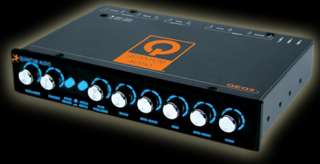 QUANTUM 5 BAND PRE AMP EQUALIZER CROSSOVER AUDIO QEQ5
