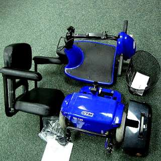 of the New CTM 3  Wheel Power Mobility Scooter HS125 B Blue
