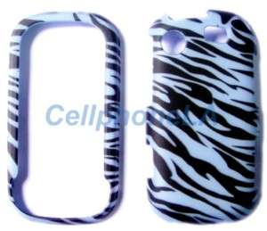 Blue Zebra Hard Case Cover Samsung Messenger Touch R630