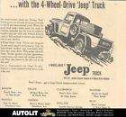 1956 Jeep Pickup Truck Maine Dealer Newspaper Ad