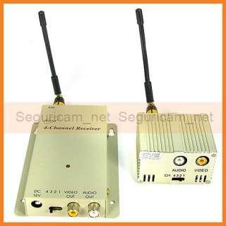 1W Wireless Camera Video Audio Transmitter Receiver Kit