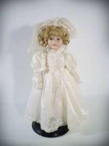 Dandee International Porcelain Bride Doll 13