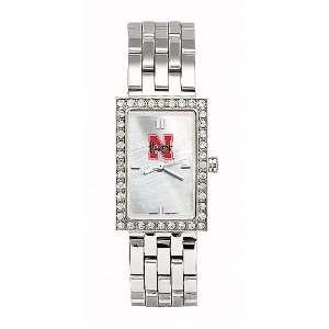 Nebraska Cornhuskers Ladies NCAA Starlette Watch (Bracelet