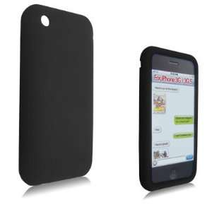 DECORO BRAND PREMIUM SILICONE CASE APPLE IPHONE 3G BLACK