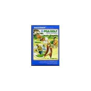 INTELLIVISION PGA GOLF VIDEO GAME (COMPLETE SET VERSION, COMES WITH