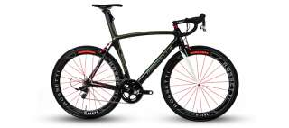 Rossetti Diablesse Black 57cm  Sram Red Black  Carbon Wheels