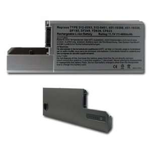 NEW Laptop Battery for Dell Latitude D531 D820 D830