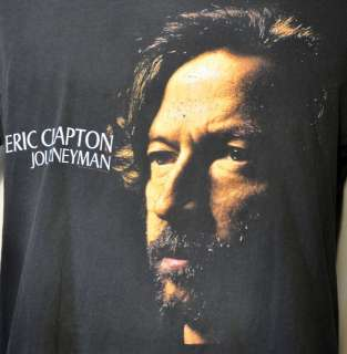 Eric Clapton Journeyman Vintage TOUR Rock T Shirt XL