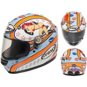 Suomy Vandal Motorcycle Helmet   Pin up