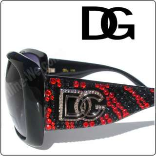 DG Designer RHINESTONE women Sunglasses shades 2832 new