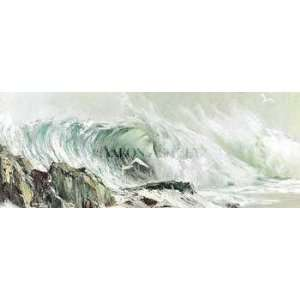 Wild Surf Poster Print: Home & Kitchen