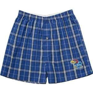 Kansas Jayhawks Mens Elite Boxer Shorts Sports & Outdoors