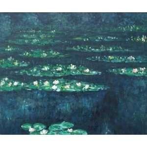 Claude Monet Water Lilies VI  Art Reproduction Oil
