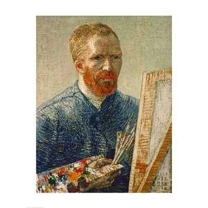Self Portrait as an Artist, 1888   Poster by Vincent