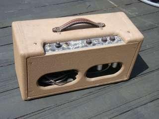 1962 FENDER Brown Tolex Reverb Unit