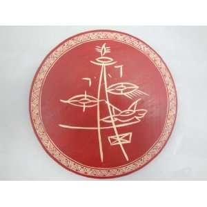 Dongba Naxi Tribal Artist Wood Carving Art Painting 125