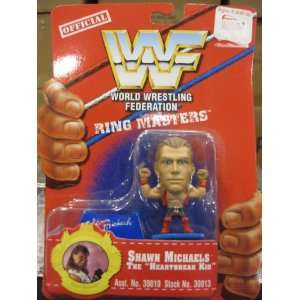 Wwf Ringmasters Shawn Michaels the Heartbreak Kid Toys