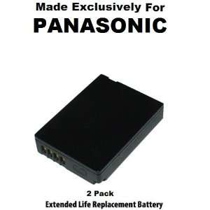 2 Pack Extended Life Replacement Battery Pack For