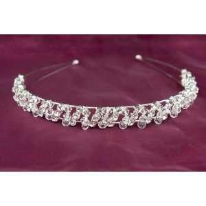 Rhinestone Crystal Wedding Bridal Tiara Headband Beauty