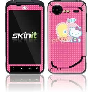 Skinit Hello Kitty Polka Dots & Apple Vinyl Skin for HTC