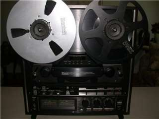 Teac X 2000R Hi Fi Reel to Reel Tape Deck Player X2000R BLACK dbx 10.5