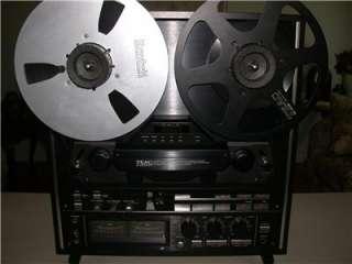 Teac X 2000R Hi Fi Reel to Reel Tape Deck Player X2000R BLACK dbx 10.5