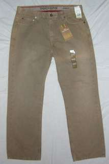 NWT Mens Dockers D3 Classic Fit Khaki Pants SZ 30x30