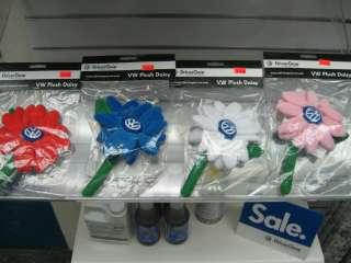 Volkswagen Daisies (Pink, White, Red, Blue) Beetle Bud Vase Flowers