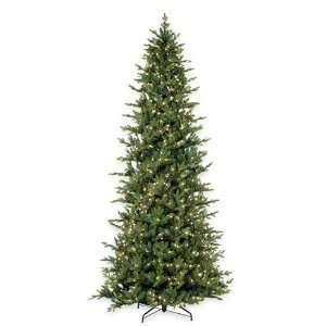 12 Douglas Oregon Fir Pre Lit Artificial Christmas Tree
