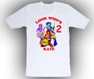Personalized Doodlebops Birthday T Shirt Gift Add Name