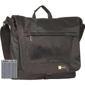 Black Messenger Bag Electronics