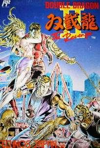 NES DOUBLE DRAGON 2 Japan Import Japanese Famicom Game