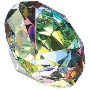 Aurora Borealis Crystal Paperweight