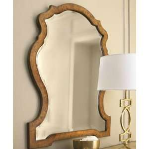 Extra Large Shaped Arch Wood Wall Mirror