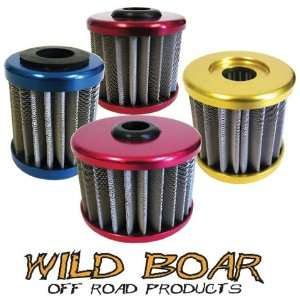 Wild Boar Stainless Steel Oil Filter Kawasaki Suzuki