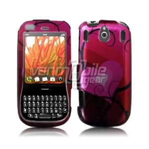 RED PINK HEART DESIGN CASE COVER for PALM PIXI Everything