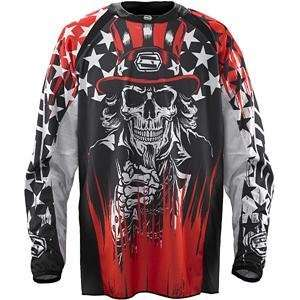 Shift Racing Faction Jersey   2010   Medium/Black/Red Automotive