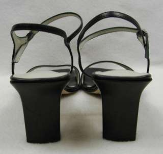 Franco Sarto Sandals Shoes Navy Blue 10 M 9.5 Heels Dressy