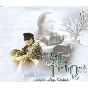 Giu Tron Tinh Que The Best of Duy Khanh (4CD Set) Duy Khanh Music