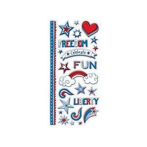 We R Memory Keepers   Yankee Doodles Collection   Embossed