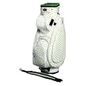 JGolf Ladies Lime Polka Dottie Cart Golf Bag
